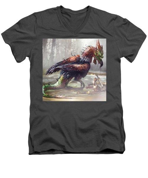 The Cockatrice Men's V-Neck T-Shirt