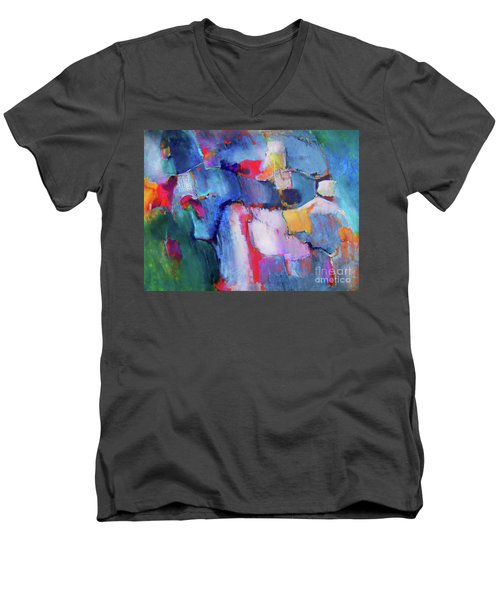The Collaboration Men's V-Neck T-Shirt