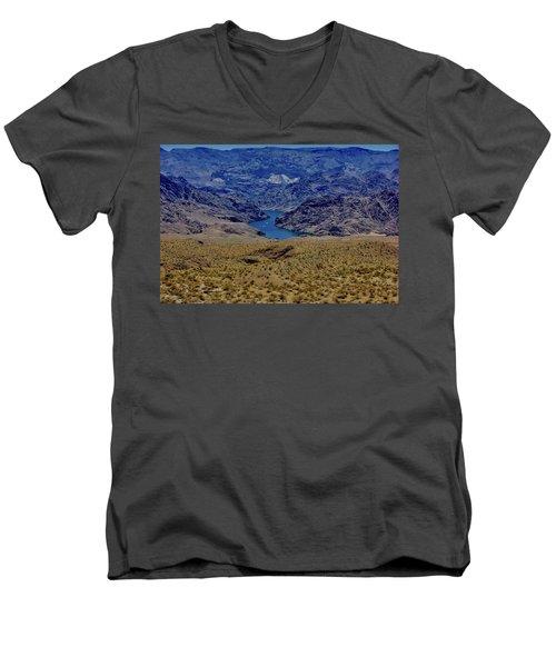 The Colorado River  Men's V-Neck T-Shirt