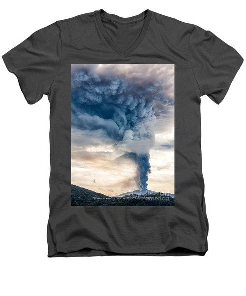 The Column Men's V-Neck T-Shirt
