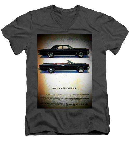 The Complete Line Men's V-Neck T-Shirt by John Schneider