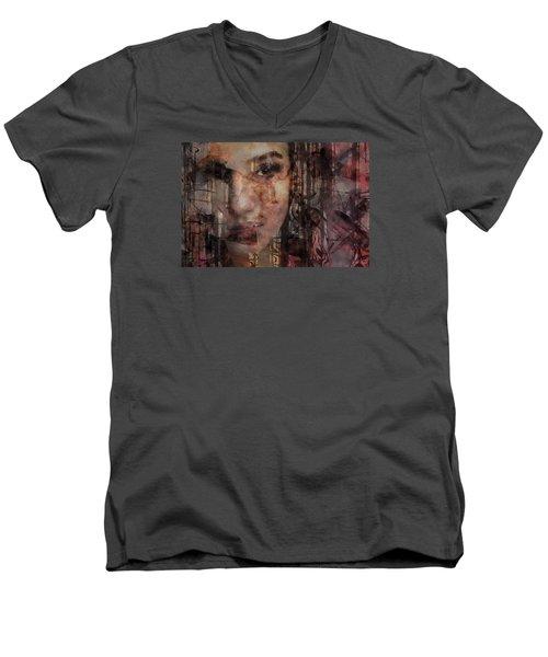 The Complexity Of Life Men's V-Neck T-Shirt by Gun Legler