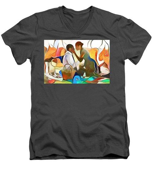 The Confidante Men's V-Neck T-Shirt