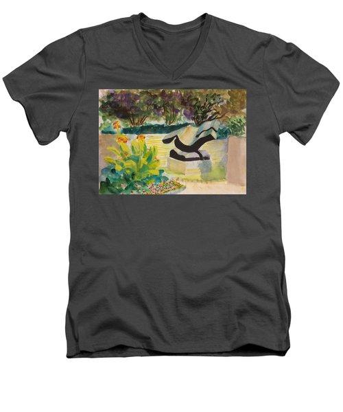 The Corinthian Garden Men's V-Neck T-Shirt