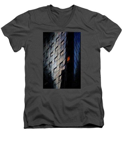 The Corporate Batcave Men's V-Neck T-Shirt