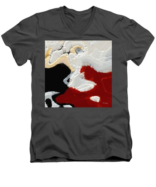 The Cost Of The Kingdom. Matthew 16 25 Men's V-Neck T-Shirt by Mark Lawrence
