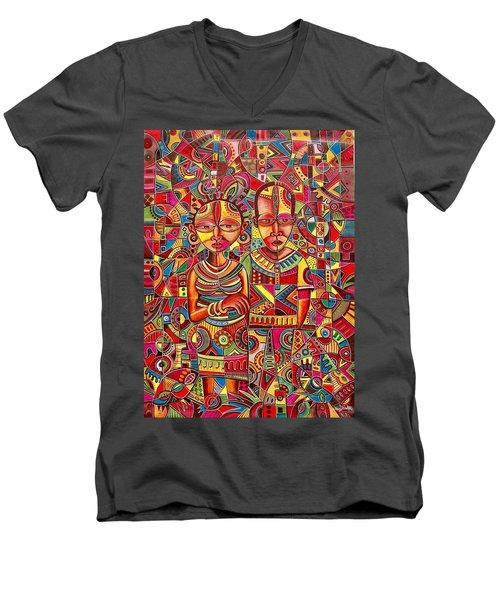 The Couple Men's V-Neck T-Shirt