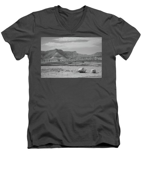 the couple of stones in the desert II Men's V-Neck T-Shirt
