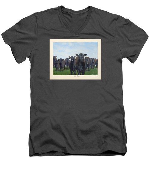 The Court Men's V-Neck T-Shirt