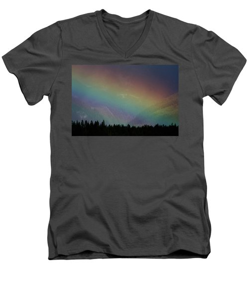Men's V-Neck T-Shirt featuring the photograph The Covenant  by Cathie Douglas