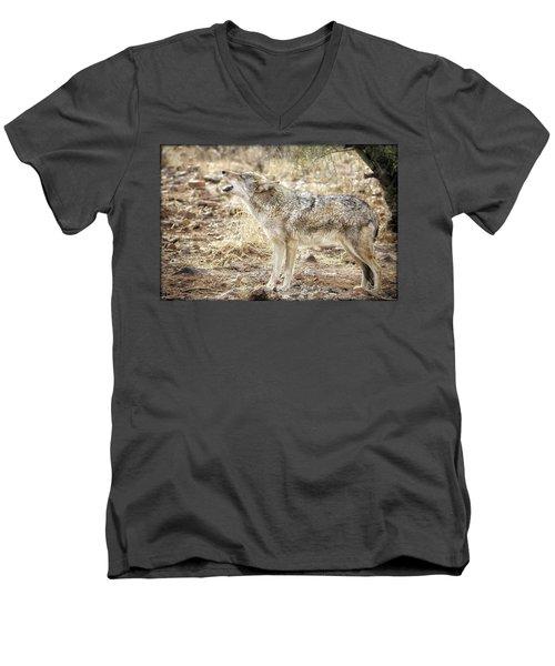The Coyote Howl Men's V-Neck T-Shirt