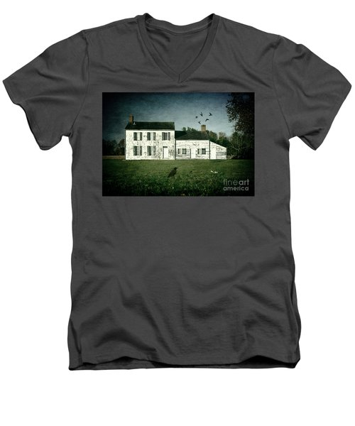 The Craig House II Men's V-Neck T-Shirt