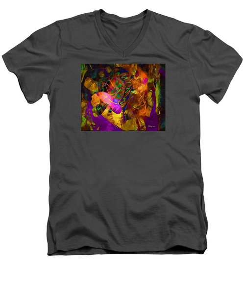 The Creation -- The Heavens Are Telling -- Franz Joseph Haydn Men's V-Neck T-Shirt