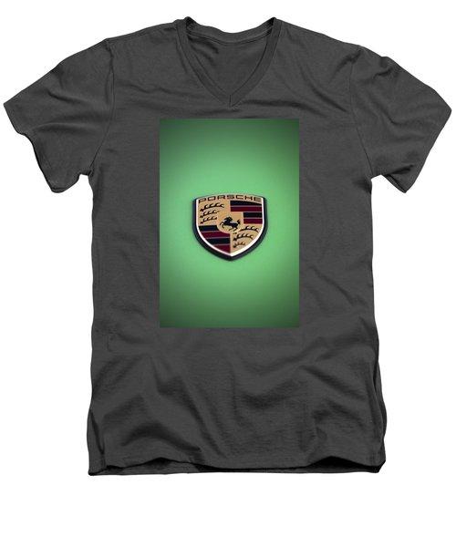The Crest Men's V-Neck T-Shirt
