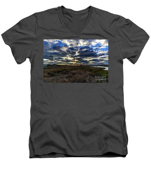 The Cross Men's V-Neck T-Shirt