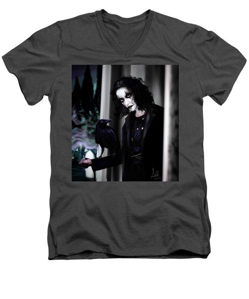 The Crow Men's V-Neck T-Shirt
