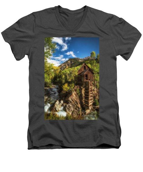 The Crystal Mill Men's V-Neck T-Shirt