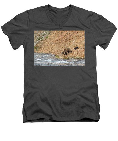 The Danger Has Passed Men's V-Neck T-Shirt