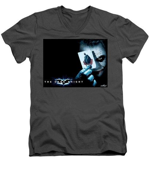 The Dark Knight Men's V-Neck T-Shirt