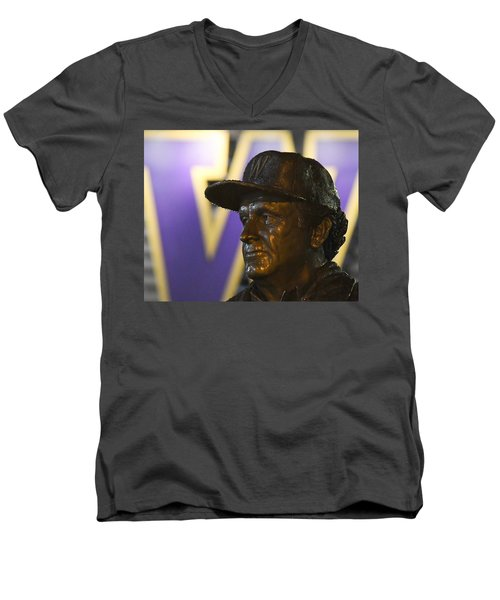 The Dawg Father Men's V-Neck T-Shirt