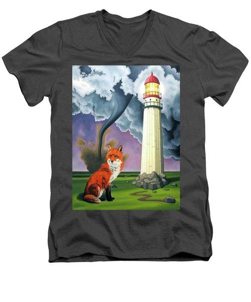 The Day The Rocks Ran Away Men's V-Neck T-Shirt