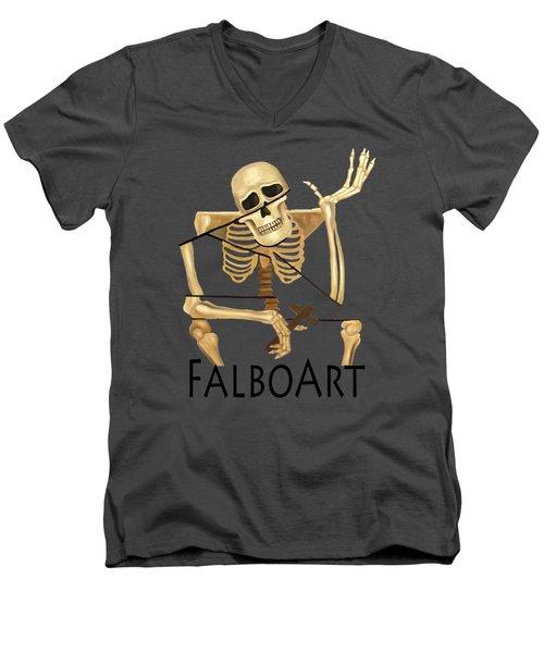 The Dead In Christ Men's V-Neck T-Shirt