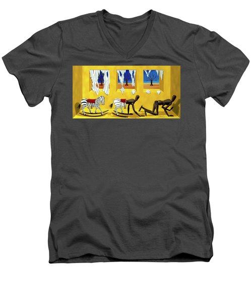 The Death Of Innocence Men's V-Neck T-Shirt