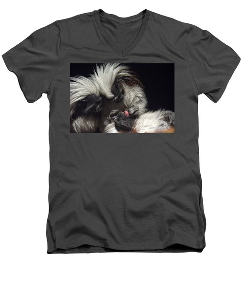 Men's V-Neck T-Shirt featuring the photograph The Dentist by Lisa L Silva
