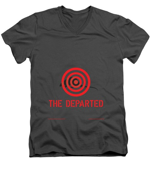 The Departed Men's V-Neck T-Shirt by Gimbri