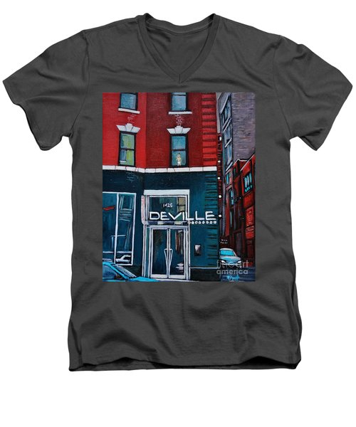 The Deville Men's V-Neck T-Shirt
