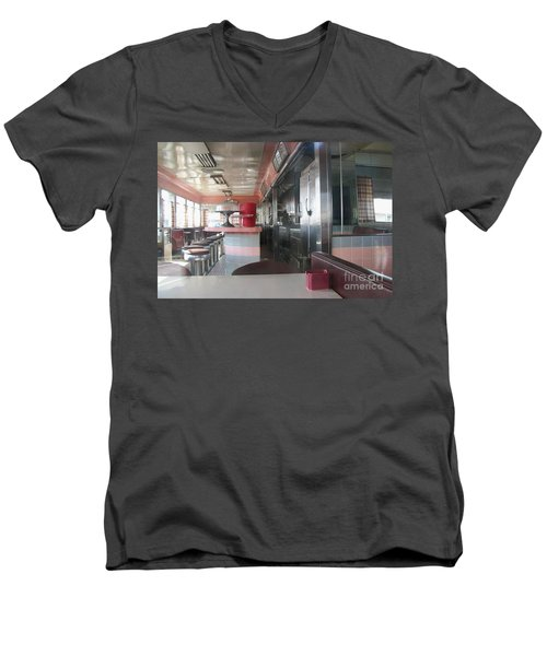 The Diner Men's V-Neck T-Shirt