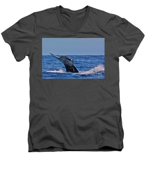 The Dive Men's V-Neck T-Shirt