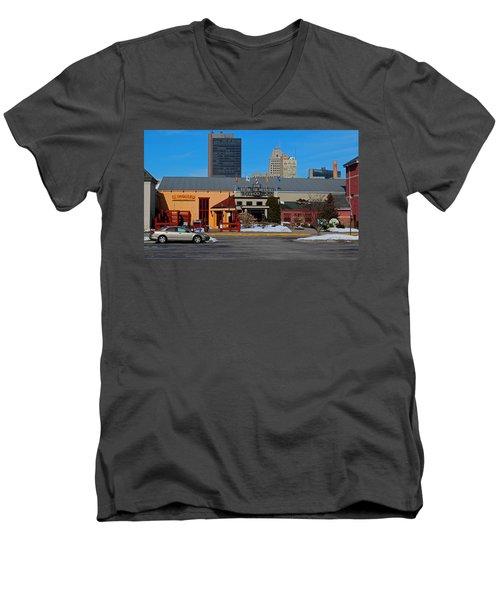 The Docks Men's V-Neck T-Shirt