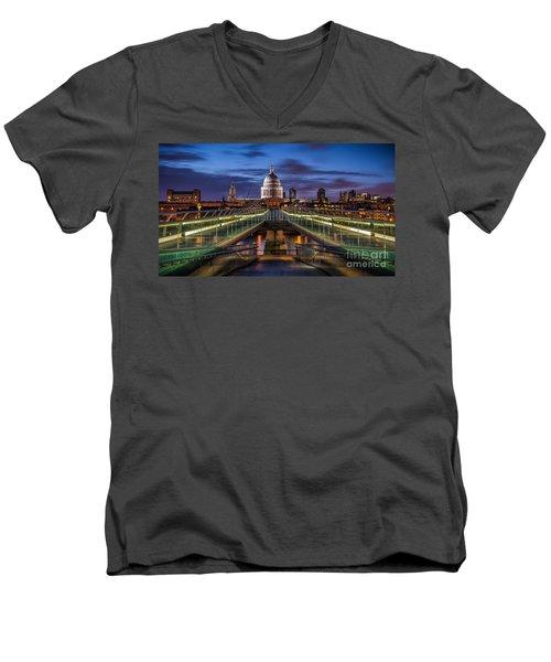 The Dome Men's V-Neck T-Shirt
