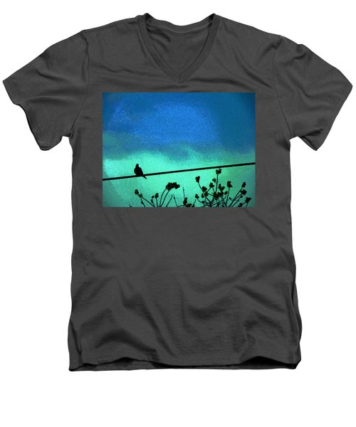 The Dove Above 2 Men's V-Neck T-Shirt