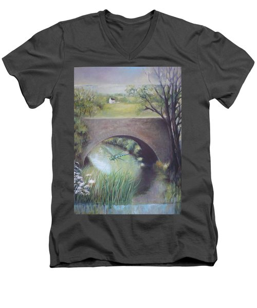 The Dragonfly Men's V-Neck T-Shirt
