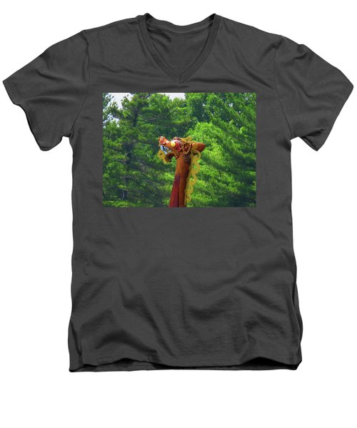 The Draken's Head Men's V-Neck T-Shirt