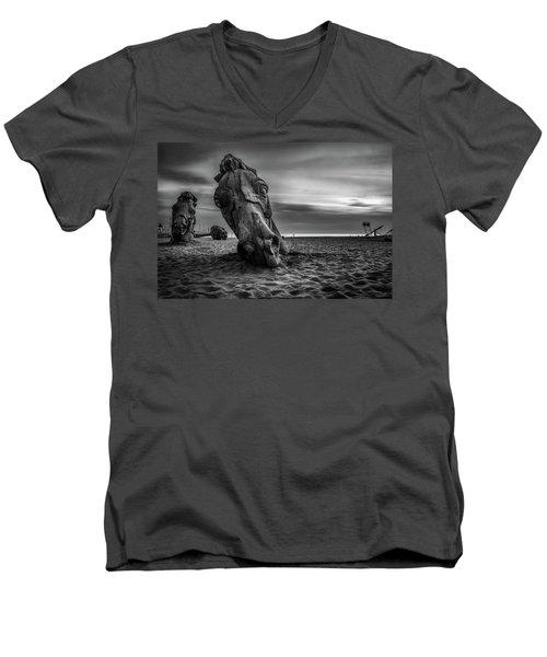 The Dread Horses Men's V-Neck T-Shirt
