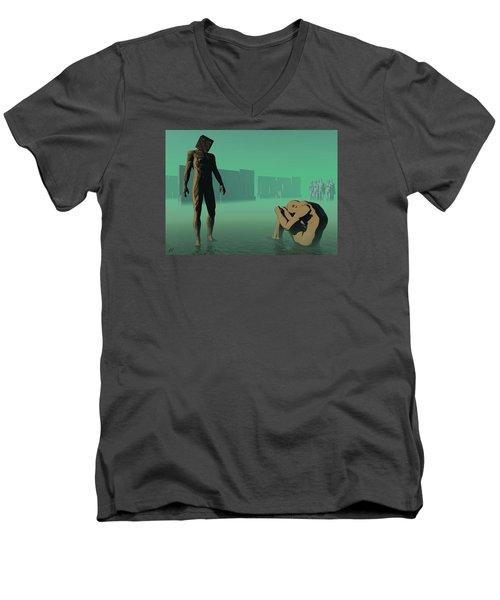 The Dream Of Shame Men's V-Neck T-Shirt