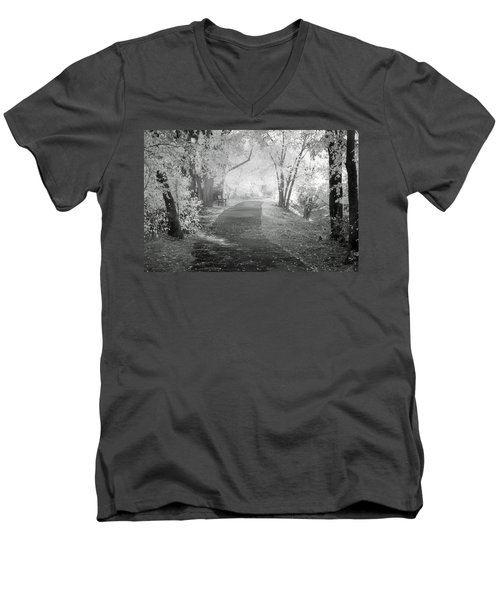 Men's V-Neck T-Shirt featuring the photograph The Dreams Of October by Tara Turner