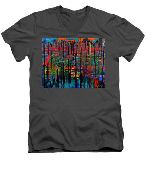 The Drip Men's V-Neck T-Shirt