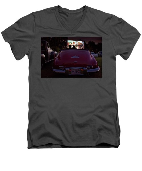 The Drive- In Men's V-Neck T-Shirt