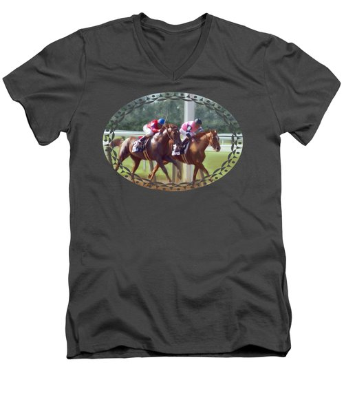 The Duel Men's V-Neck T-Shirt