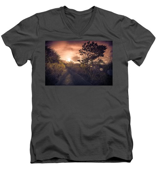 The Dusk Men's V-Neck T-Shirt