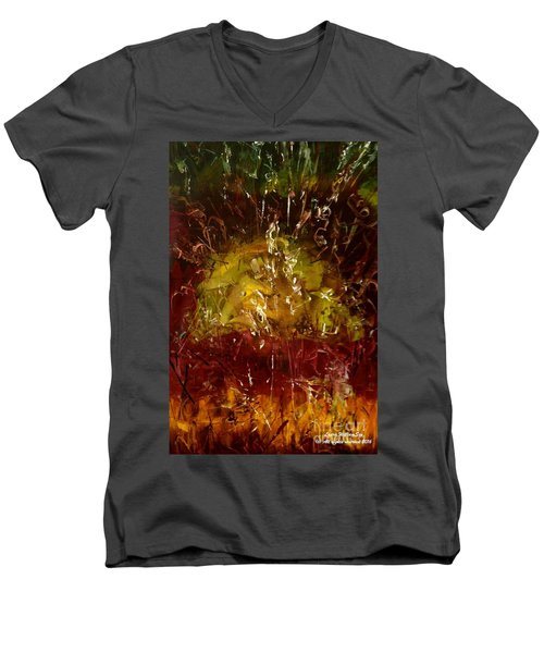 The Elements Earth #4 Men's V-Neck T-Shirt