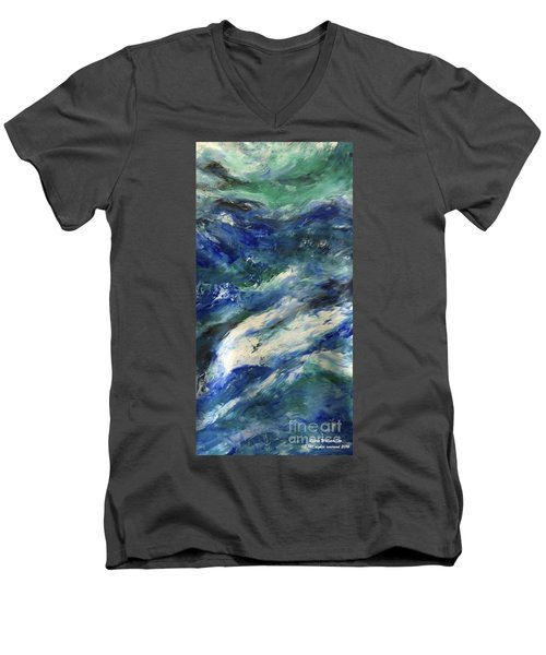 The Elements Water #4 Men's V-Neck T-Shirt