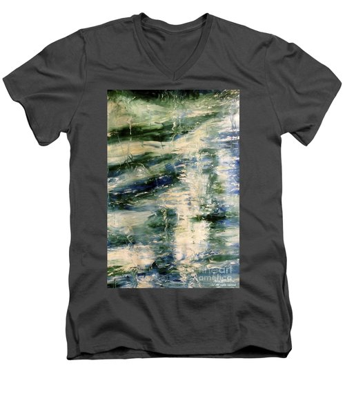 The Elements Water #5 Men's V-Neck T-Shirt