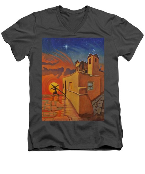The Emancipation Of Christ Men's V-Neck T-Shirt