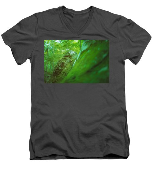 The Emerald Dream Men's V-Neck T-Shirt