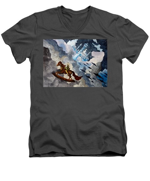 The Enchanted Horse Men's V-Neck T-Shirt